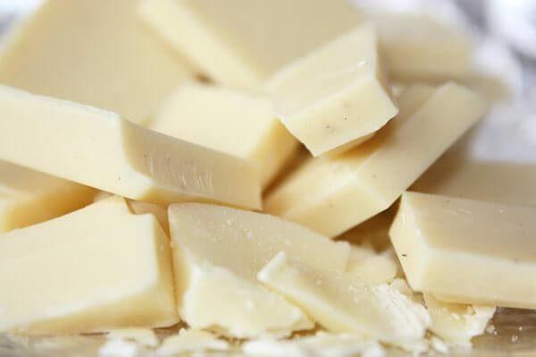 белые шоколадки