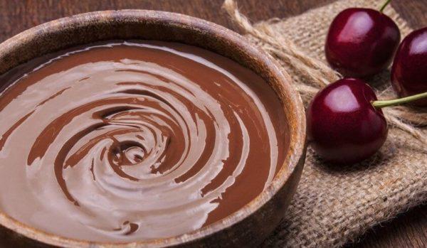 шоколадная жидкость