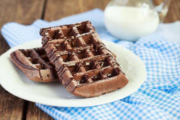 вафли из шоколада