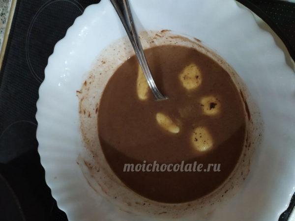 масло в шоколаде