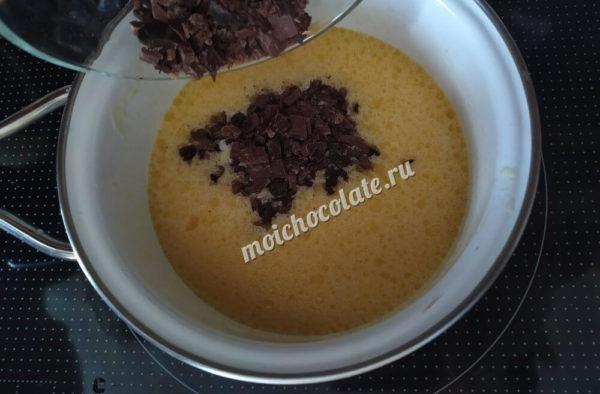 Маффины с шоколадом и апельсином