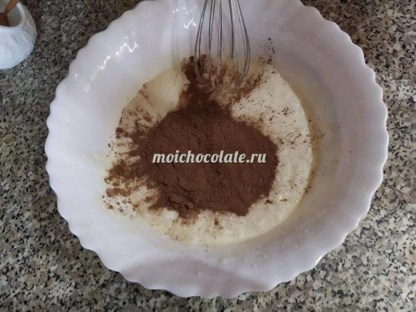 Кексы шоколадные на сметане
